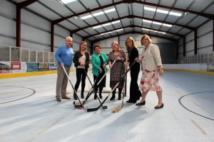 Social Enterprise at The Rink Portadown with HSC Board